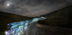 Hawes to Thwaite with light streaks small