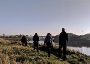 Tees barrage walk